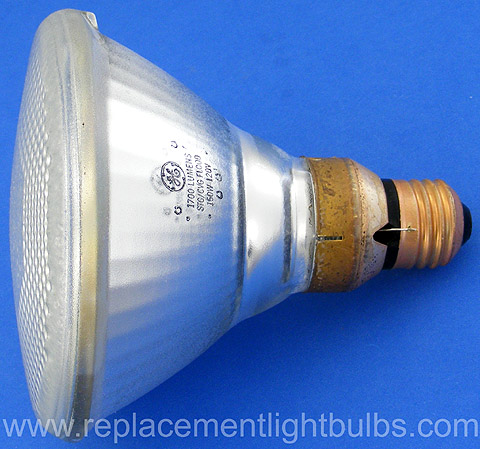 GE 150PAR/FL/STG 120V 150W PAR38 Shatter Guard Flood Lamp