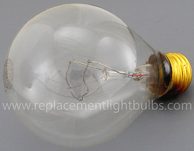 GE 1950L/P25/TS Traffic Signal Light Bulb, Replacement Lamp, 120V 125V