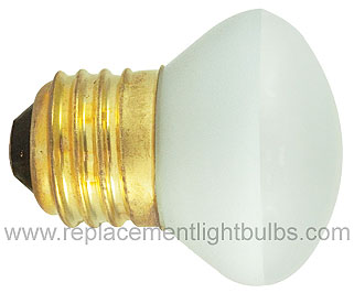 Bulbrite 25R14-120V 25W 120V E26 Medium Screw R14 Reflector Light Bulb, Replacement Lamp