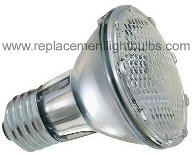 Ge 38par20h Fl25 120v 38w Halogen Par20 To Replace 50w