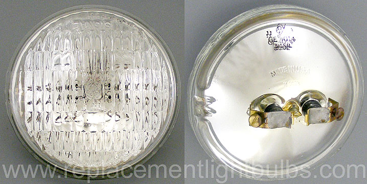 GE 4014 6V 18W Garden, Security, Signal Sealed Beam Lamp, Replacement Light Bulb