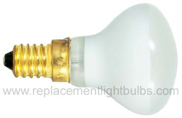 Bulbrite 40R14/E14-130V 40W Flood Lamp, Replacement Light Bulb