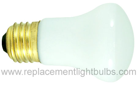 Bulbrite 40R16-120V 40W 120V E26 Medium Screw R16 Reflector Flood Light Bulb, Replacement Lamp