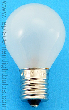 Eiko 41346 4007-MS 115-125V 25W Intermediate Screw Frosted Lensometer Light Bulb Replacement Lamp