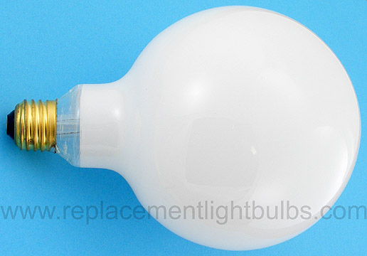 60g40 W 130v 60w Frosted White Globe Light Bulb