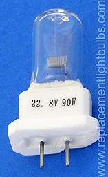 Hanaulux H053198 Blue 90 22.8V 90W Lamp, Replacement Light Bulb