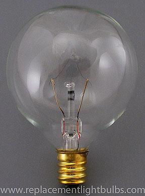 bulbrite 25g16cl2 25w 120v globe scentsy ke 25wlite light. Black Bedroom Furniture Sets. Home Design Ideas