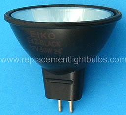 Eiko EXZ-Black 12V 50W 24° MR16 Replacement Light Bulb Lamp