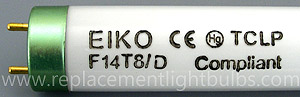 F14T8/D 14W Daylight Fluorescent Lamp