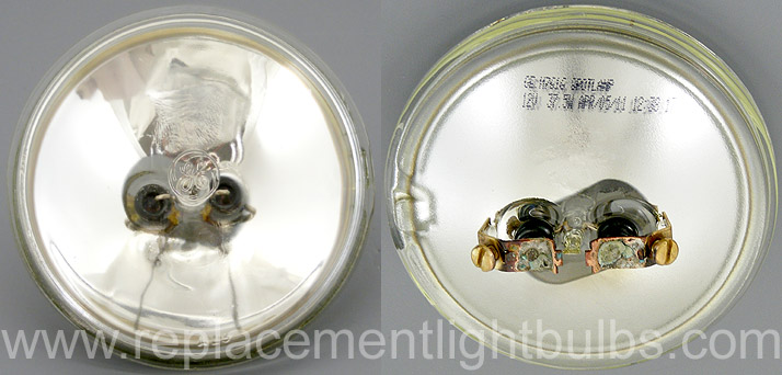GE H7616 12V 37.5W Very Narrow Spot Sealed Beam Lamp, Replacement Light Bulb