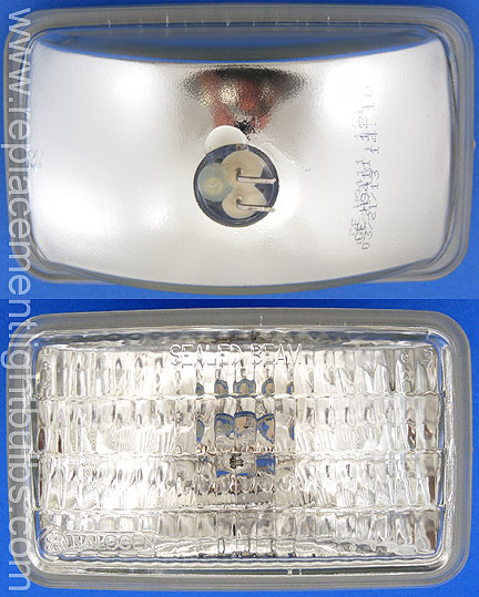 GE H9411 12V 50W 150mm Sealed Beam Tractor, Traffic Signal Lamp, Replacement Light Bulb