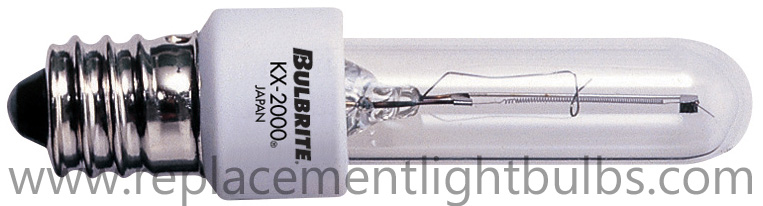 Bulbrite KX20CL/E12 20W 120V Xenon Candelabra Screw Replacement Light Bulb
