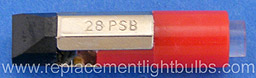 Eiko LED-24-PSB-R 24V to 28V Red to Replace 28PSB