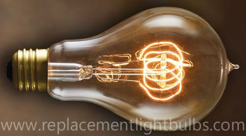 Nostalgic 25W 120V Victor Antique A21 Loop Filament Replacement Light Bulb