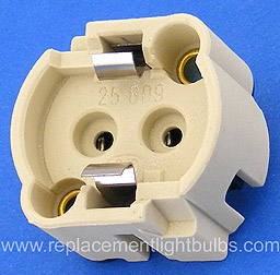 BJB 25.809 G12 T180, 0.5-10, 2/1000 Lamp Socket