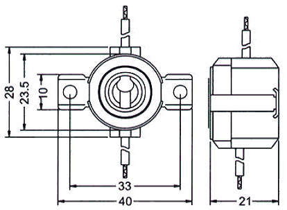 Model B E11 Socket Graphic