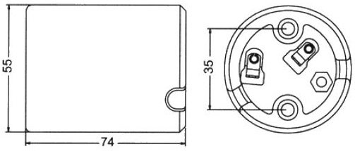GE-6041 Socket Graphic Drawing